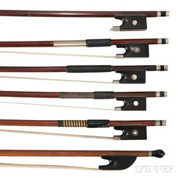 Six Violin Bows