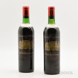 Chateau Palmer 1970, 2 bottles