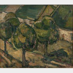 József Egry (Hungarian, 1883-1951)      Keszthely