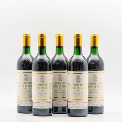 Chateau Pichon Lalande 1989, 5 bottles