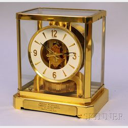 Brass and Glass Atmos Clock by Jaeger-LeCoultre
