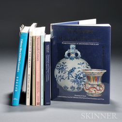 Seven Books and Exhibition Catalogs on Chinese Porcelain