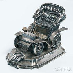 Silver Fiat 1899 Model Desk Accessory