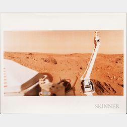 Viking 1, Mars, Four Photographs.