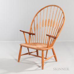 Hans Wegner (1914-2007) for Johannes Hansen Peacock Chair
