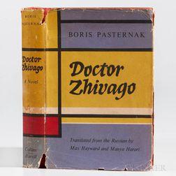 Pasternak, Boris (1890-1960) Doctor Zhivago  , First English Edition.