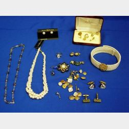 Group of Costume and Men's Jewelry