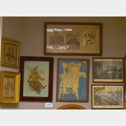 Seven Assorted Framed Items