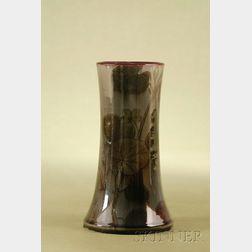 Rookwood Pottery Glazed Mantel Vase by Kataro Shirayamadani