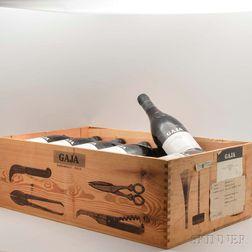Gaja Barbaresco 1982, 12 bottles (owc, no lid)