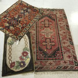 Kuba Rug, a Turkish Rug, and a Hooked Rug