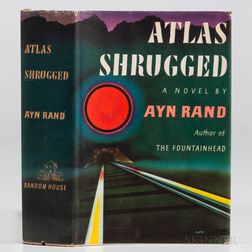Rand, Ayn (1905-1982) Atlas Shrugged  , First Edition.