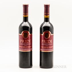 Pride Mountain Vineyards Cabernet Sauvignon Reserve 2001, 2 bottles