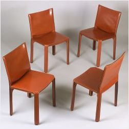 Twelve Cassina Cab Chairs