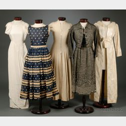 Assorted Vintage Lady's Clothing