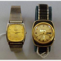 Bulova Accutron and Rolex Wristwatches