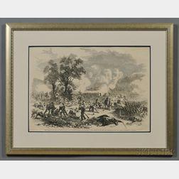 Frank Leslie Print First Battle of Bull Run