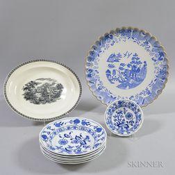 Group of English Ceramic Tableware