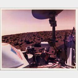 Viking 2, Mars, Three Color Photographs.