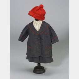 Three Dark Wool Outfits for Dolls