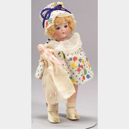 """Armand Marseille """"Just Me"""" Bisque Head Doll"""
