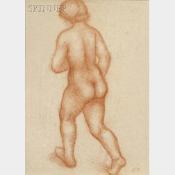 Aristide Maillol (French, 1861-1944)      Nude