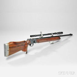 Birmingham Small Arms Martini-International Target Rifle and Scope