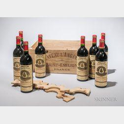 Chateau Angelus 1990, 8 bottles