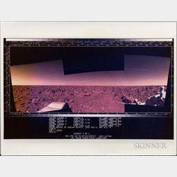 Viking 2, Mars, Six Photographs.