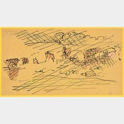 Jacques Villon (French, 1875-1963)    Vendanges