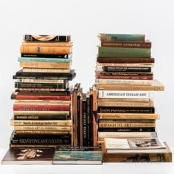 Collection of Reference Books on American Indian Art.