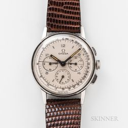 Omega Stainless Steel Three-register Reference 2279 Chronograph