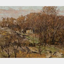 Frederick John Mulhaupt (American, 1871-1938)      East Gloucester Farm
