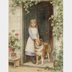"Henry James Johnstone (British, 1835-1907)      ""Old Rover"""