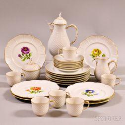Ludwigsburg Porcelain Partial Tea Service