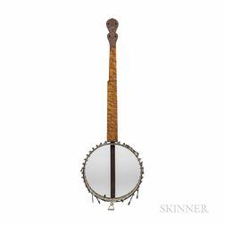 Five-string Fretless Banjo, Possibly J.H. Buckbee, c. 1880