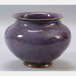 Leon Volkmar Durant Kilns Glazed Art Pottery Vase