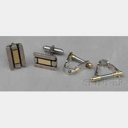 Two Pairs of Cuff Links, Cartier