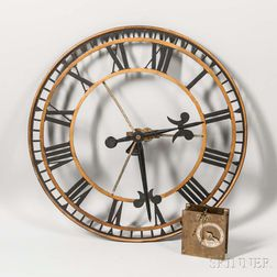 London Tower Clock Movement and Dial