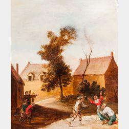 Dutch School, 17th Century      Soldiers Taking Village Folk as Prisoners