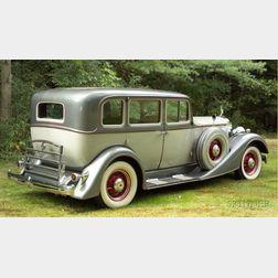 *1934 Packard Std 8 Sedan, Vin # 19901981