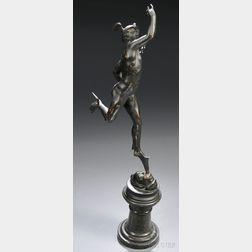 Grand Tour Bronze of Mercury