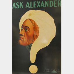 American School, 20th Century      ASK ALEXANDER