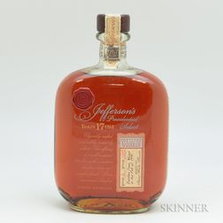 Jeffersons Presidential Select 17 Years Old 1991, 1 750ml bottle