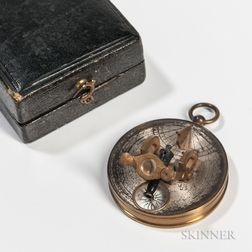 Miniature Cased Noon Cannon