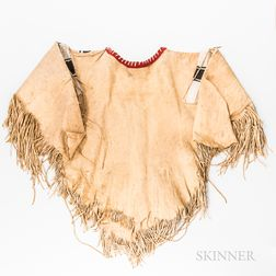 Contemporary Plains Beaded Hide Shirt