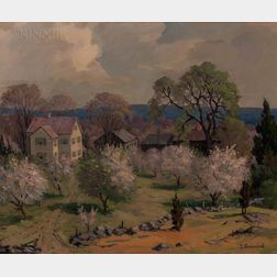Jacob Greenleaf (American, 1887-1968)      Hartwell Farm  /Lincoln, Mass.