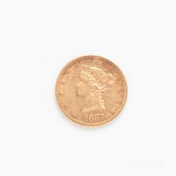 1887-S $10 Liberty Head Gold Coin