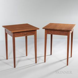 Two Thomas Moser Side Tables