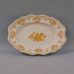 Moustier Faience Platter